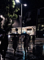 Pluie à Cannes