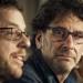 Les réalisateur américain Ethan et Joel Coen pendant la conférence du jury du 68  Festival de Cannes le 13 mai 2015.